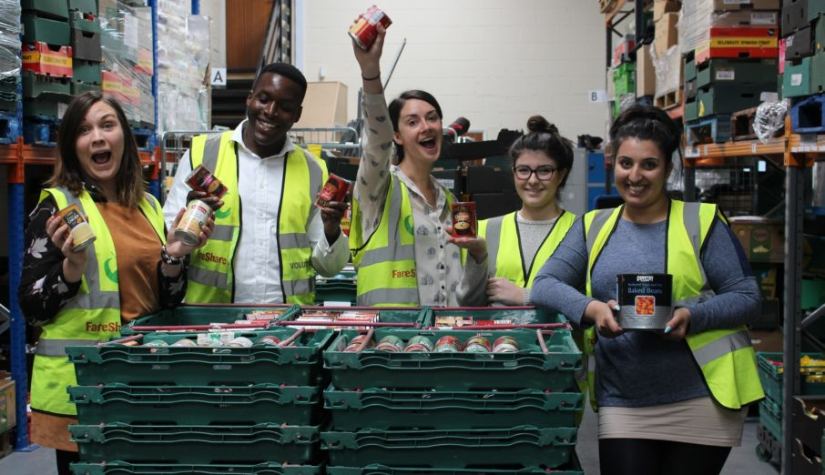 This week, along with four other Paper Round volunteers, I booted up to go and help in a FareShare depot.