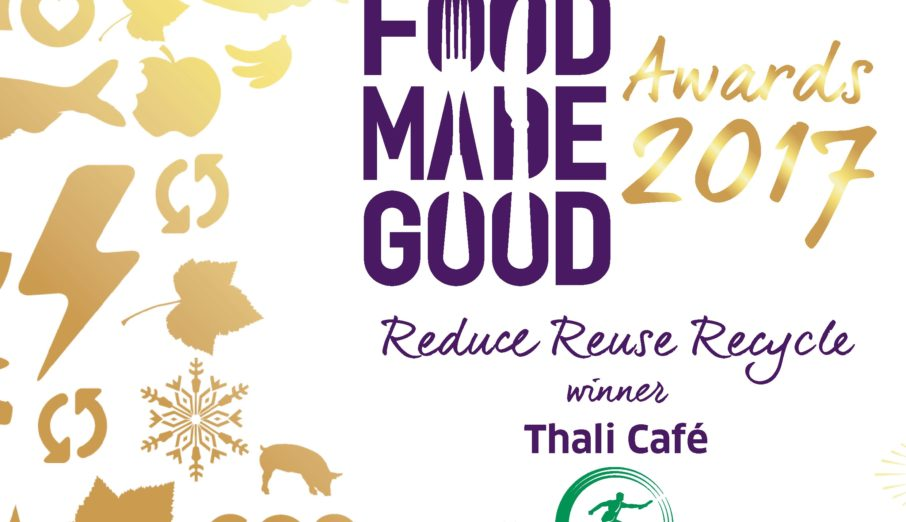Paper Round have been long term partners with the SRA and were proud to sponsor the Reduce, Reuse, Recycle award at this years' Food Made Good awards.