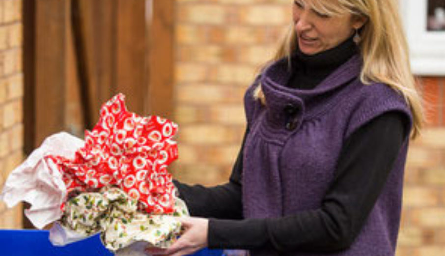 We're getting festive in this week's blog to help you recycle more over the festive period. With lots of wrapping paper, cards, envelopes and bits of packaging flying around, there're plenty of opportunities to make sure you're recycling as much of your waste as possible.