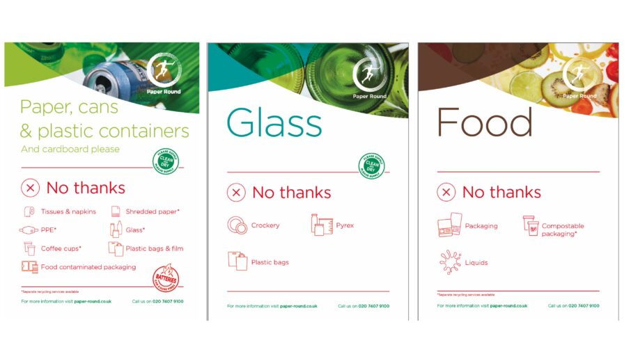 This Recycle Week we've made some bold changes to help improve the quality of workplace recycling – a key driver for the circular economy.