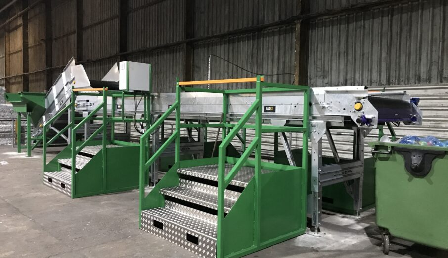 We are very excited to announce the grand opening of the UK's first compostables specific sorting line – built at our very own Materials Recovery Facility