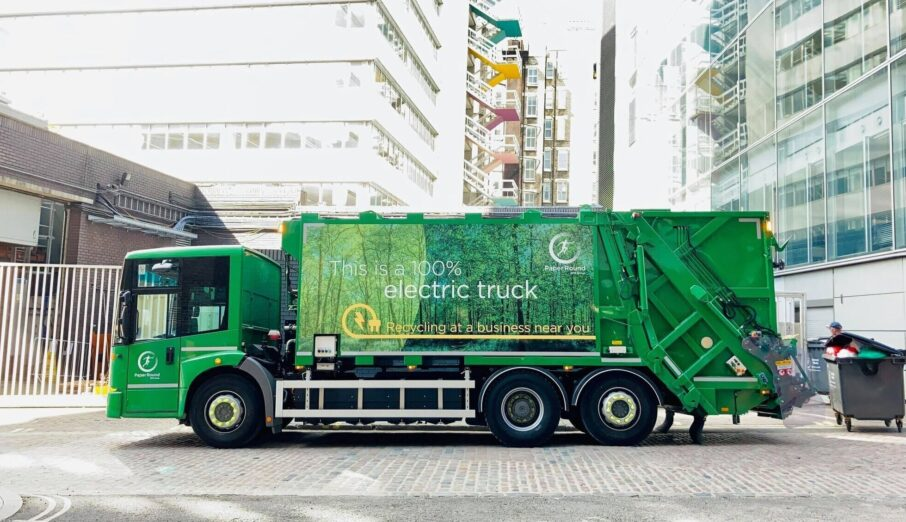 Have you ever wondered what it feels like to be on the other side of a waste collection? Join me, Hattie Lindsey, on my journey of exploration. Swapping the security of my office chair, for a passenger seat on one of our new electric trucks.