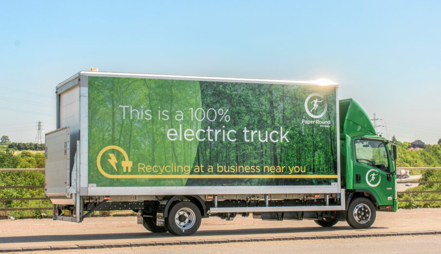 This #CleanAirDay we welcomed with open arms our first fully electric trucks to join our growing fleet