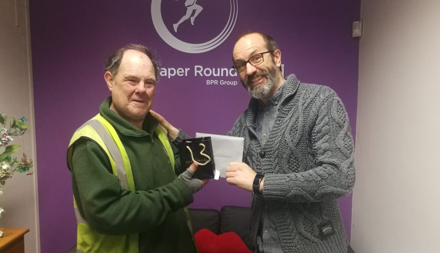 Mr Dave Hayler retired from Brighton Paper Round this week with 24 years of service to his name.
