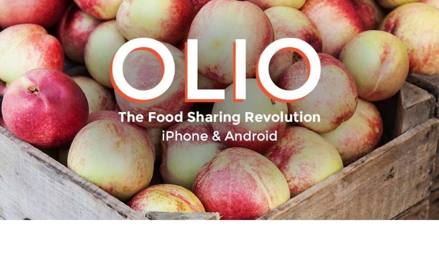 OLIO is a free app that allows neighbours to connect with one another and local shops and cafes so surplus food can be shared, instead of thrown away.