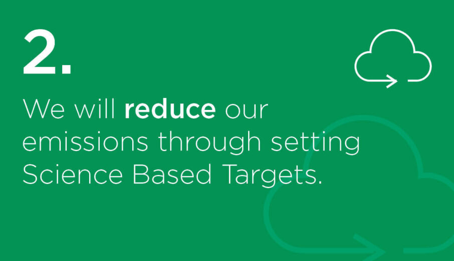 Week two of our #sustainABLEpathway campaign is well underway and this week we're introducing our second commitment: We will reduce our carbon emissions, through setting Science Based Targets.
