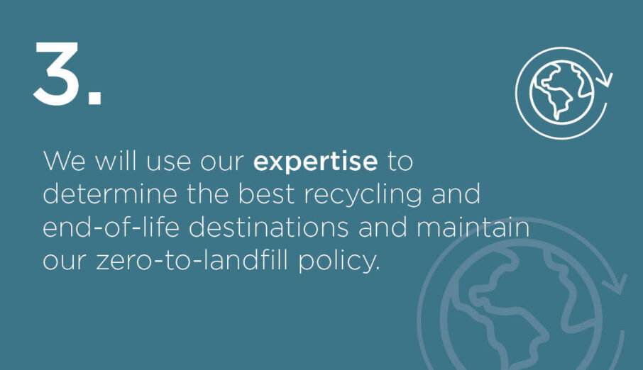 Week 3 of our SustainABLE Pathway launch and this week we're showcasing the importance of recycling outcomes and destinations to help on our pathway to carbon reduction and net zero.