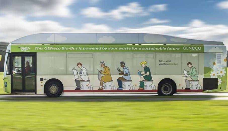 """This week was the week the first poo-powered bus took to the streets of Bath. Running on human and food waste, the 40 seater """"bio-bus"""" uses gas generated through anaerobic digestion."""
