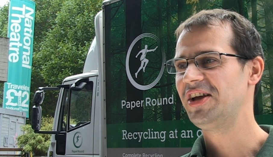 Have you ever wondered what it's like to be on the other side of your recycling collections? A few weeks ago we interviewed one of our driver's, Vladimir, about what it's like driving for Paper Round.