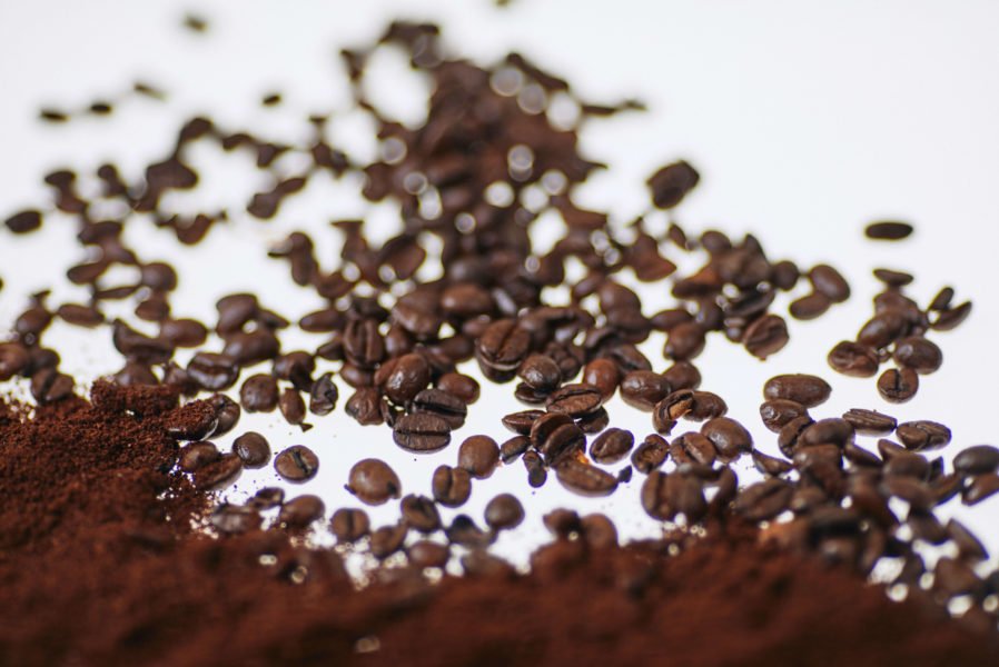 Coffee ground recycling