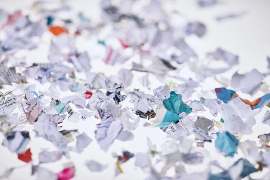 Secure shredding at home